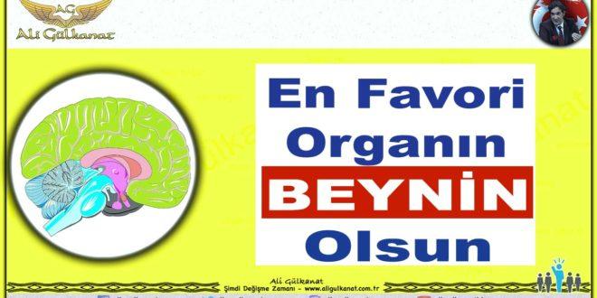 En Favori Organın BEYNİN Olsun