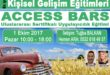 ACCESS BARS Uygulayıcılık Eğitimi – İSTANBUL – 1 Ekim 2017