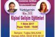 ACCESS BARS Uygulayıcılık Eğitimi – 1 Ekim 2017 – İSTANBUL