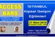 ACCESS BARS Uygulayıcılık Eğitimi – 31 Mart 2018 – İSTANBUL