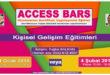 ACCESS BARS Uygulayıcılık Eğitimi – 31 Ocak veya 4 Şubat 2018 – İSTANBUL